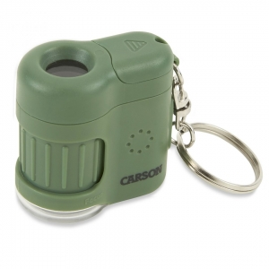 Carson Optical: MicroMini 20x Pocket Microscope, Green
