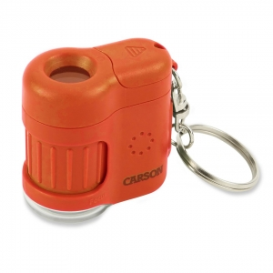Carson Optical: MicroMini 20x Pocket Microscope, Orange