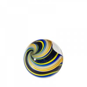 Mark Matthews: Triple Triple Lutz Sphere, Yellow & Cobalt