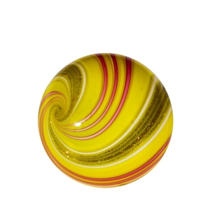 Mark Matthews: Triple Triple Lutz Sphere, Yellow & Red
