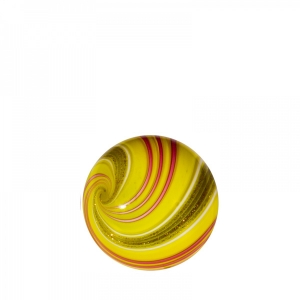 Mark Matthews: Triple Lutz Sphere, Yellow & Red