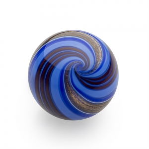 Mark Matthews: Banded Lutz Sphere, Blue