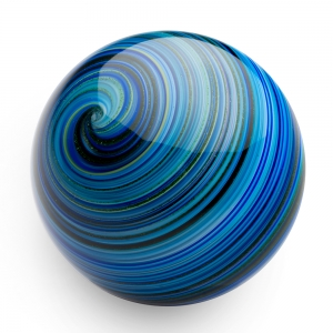 Mark Matthews: Bejeeber Twist Sphere, Blue