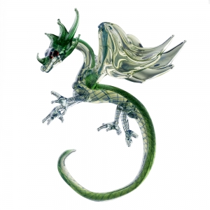 Milon Townsend: Round Dragon Ornament
