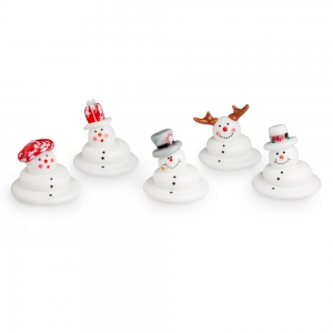 Vitrix Hot Glass Studio: Melting Snowman