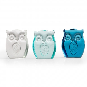 Hudson Beach Glass: Mother Owl