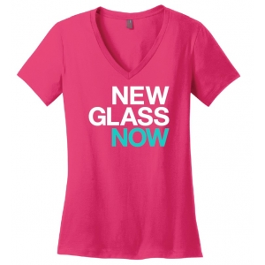 Corning Museum of Glass: New Glass Now Pink T-Shirt