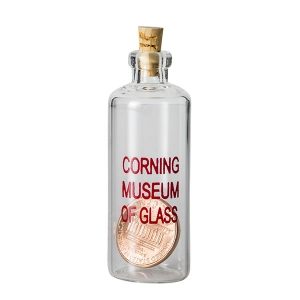 Corning Museum of Glass: Penny in a Bottle