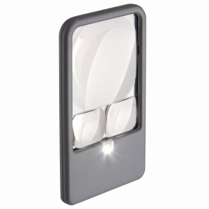 Carson Optical: Lighted Pocket Magnifier