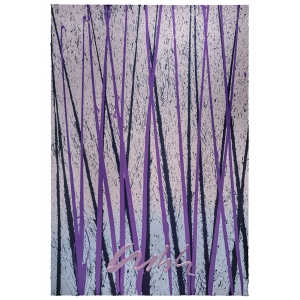 Chihuly Workshop: Viola's Reeds, Framed Serigraph, Signed
