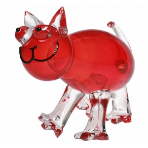 Catherine Labonte: Cat, Transparent Red