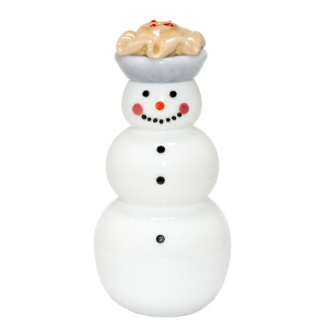 Vitrix Hot Glass Studio: Apple Pie Snowman