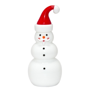 Vitrix Hot Glass Studio: Santa Snowman
