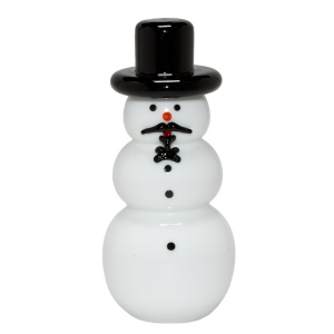 Vitrix Hot Glass Studio: Top Hat Snowman