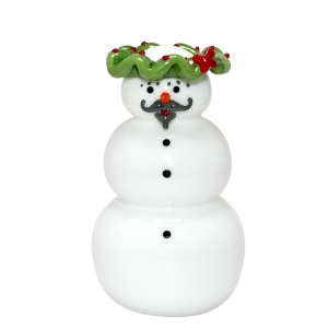 Vitrix Hot Glass Studio: Wreath Snowman