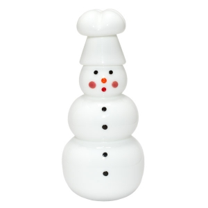 Vitrix Hot Glass Studio: Chef Snowwoman
