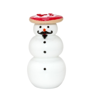 Vitrix Hot Glass Studio: Pizza Snowman