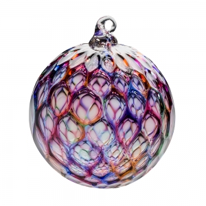 Hands on Glass: Diamond Ornament, Confetti