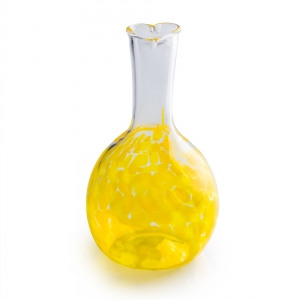 Henrietta Glass: Circle Friends Vase, Yellow