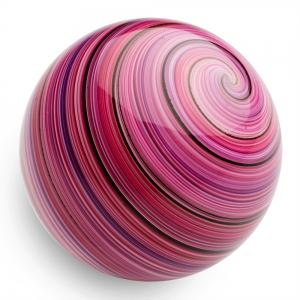 Mark Matthews: Bejeeber Twist Sphere, Red