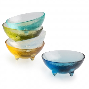 Hudson Beach Glass: Mini Spike Bowl