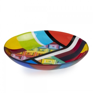 Tara Wisniewski: Medium Rainbow Bowl
