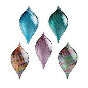 Vessel Studio Glass: Teardrop Ornament