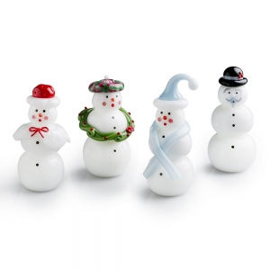 Vitrix Hot Glass Studio: Snowperson