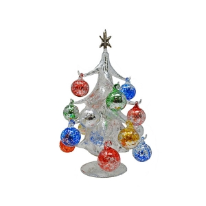 "Gift Essentials: 10"" Silver Ornament Tree"