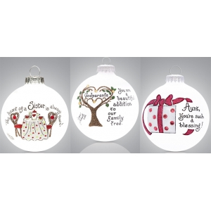 Heart Gifts by Teresa: Family Ornament
