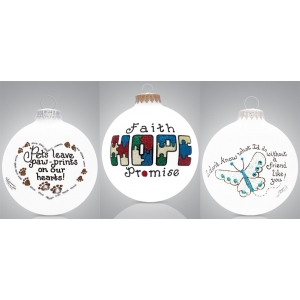 Heart Gifts by Teresa: Inspirational Ornament