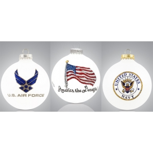 Heart Gifts by Teresa: Military & Patriotic Ornament