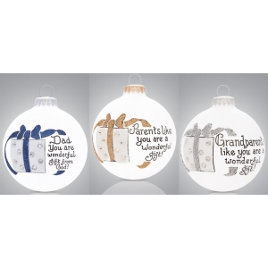Heart Gifts by Teresa: Parents & Grandparents Ornament