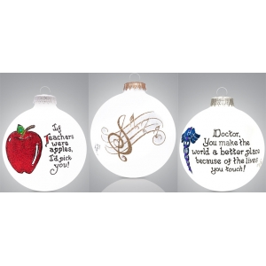 Heart Gifts by Teresa: Professions & Hobbies Ornament