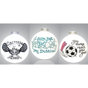 Heart Gifts by Teresa: Sports Ornament