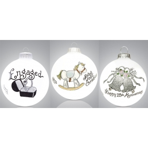 Heart Gifts by Teresa: Weddings & Babies Ornament