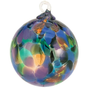 Glass Eye Studio: Purple Mystique Orchid Ornament