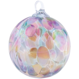 Glass Eye Studio: Blush Orchid Ornament