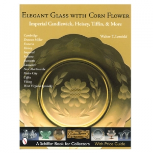 Elegant Glass With Corn Flower