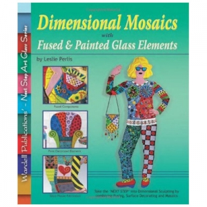 Dimensional Mosaics With Fused & Painted Glass Elements