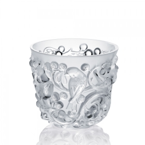 Lalique: Avallon Vase, Clear