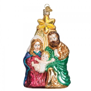 Old World Christmas: Holy Family