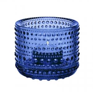 Oiva Toikka: Kastehelmi Votive, Ultramarine Blue