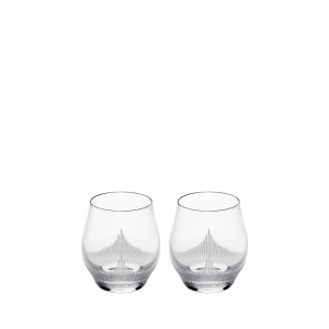Lalique: 100 Points Double Old Fashioned  Glasses, Set of 2