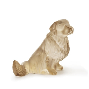 Lalique: Golden Retriever, Gold Luster