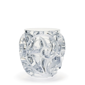 Lalique: Tourbillions Small Vase, Clear