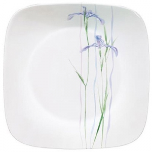 "Corelle: Shadow Iris Square 10.25"" Dinner Plate"