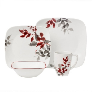 Corelle: Kyoto Leaves 16-Piece Set