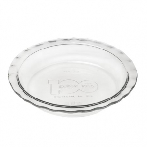 Pyrex: Easy Grab 9.5 Inch 100th Anniversary Pie Plate