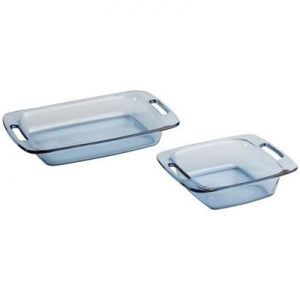 Pyrex: Easy Grab 2-Piece Value Pack, Blue